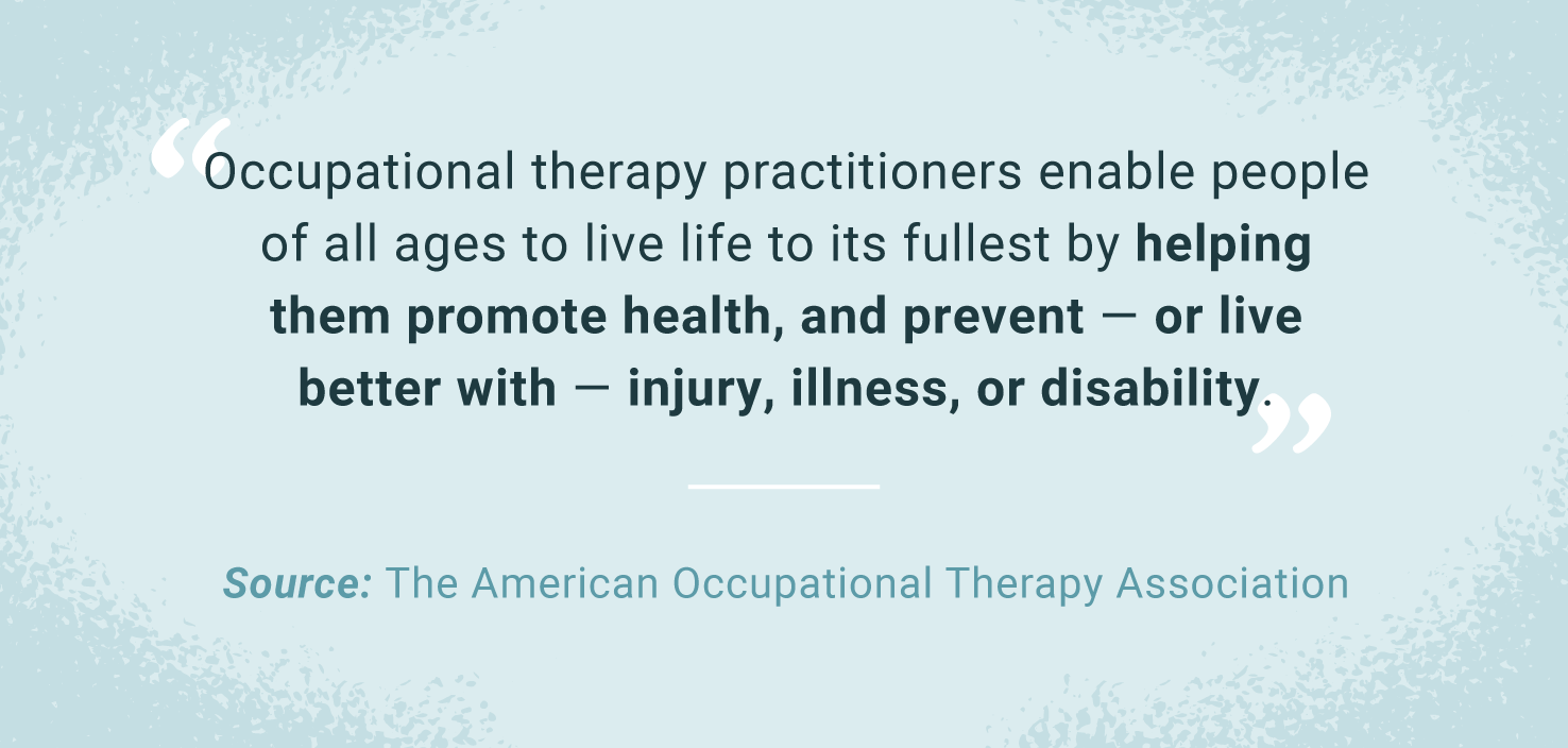 quote about occupational therapy