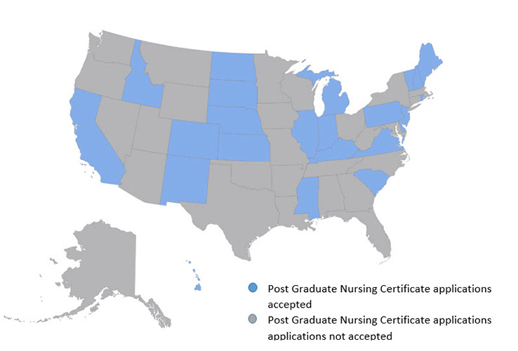 Post Graduate Nursing Approvals