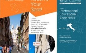 Italy Immersion Trip Details for This Spring!