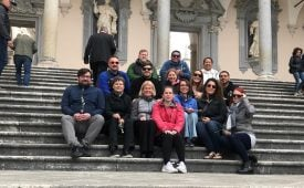 Post-Professional Programs Planning Next 8-Day Study Abroad Trip to Italy