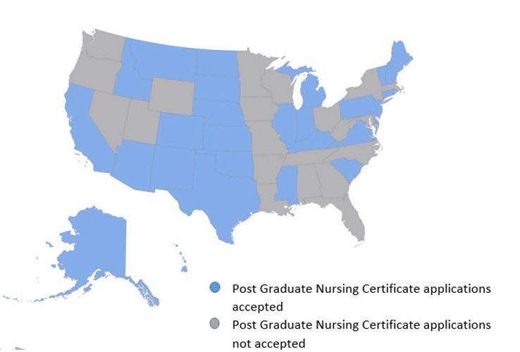 Post Graduate Nursing Certificate Approvals