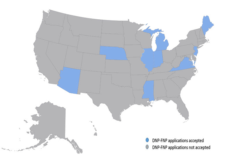DNP-FNP State Approvals Map