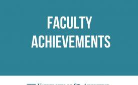 June Faculty Achievements
