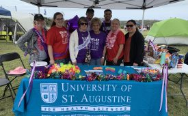 USAHS Students Volunteer in Relay for Life Event