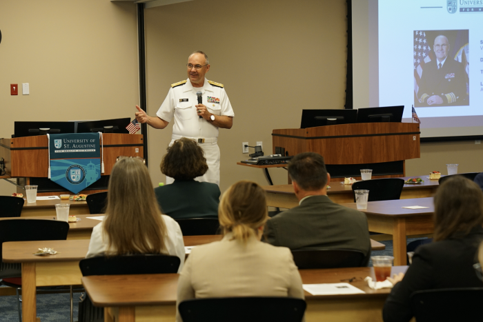 2019 Presidential Distinguished Lecture: Vice Admiral Forrest Faison III, M.D.
