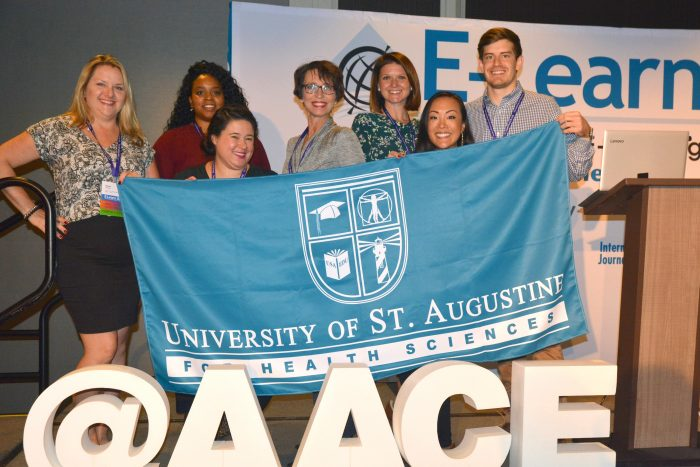 Students Collaborate and Present at e-Learning Conference