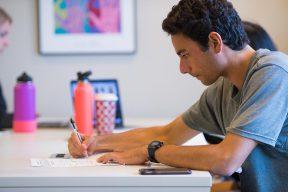 graduate student writing a statement of purpose