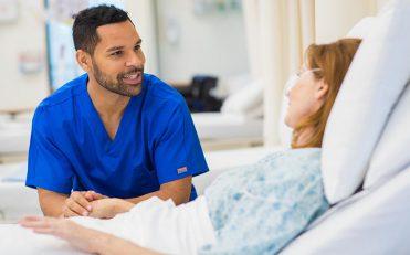 nurse with a patient