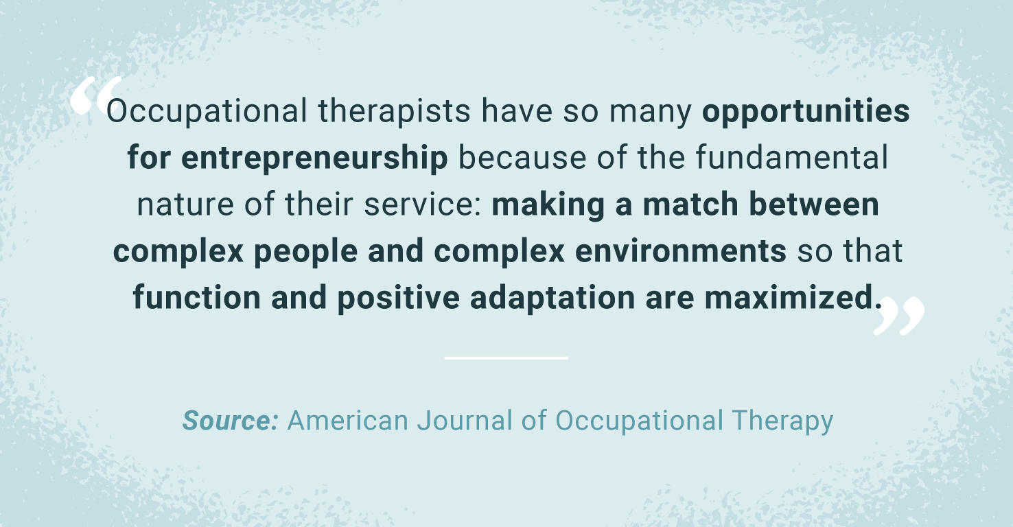 quote about occupational therapy career
