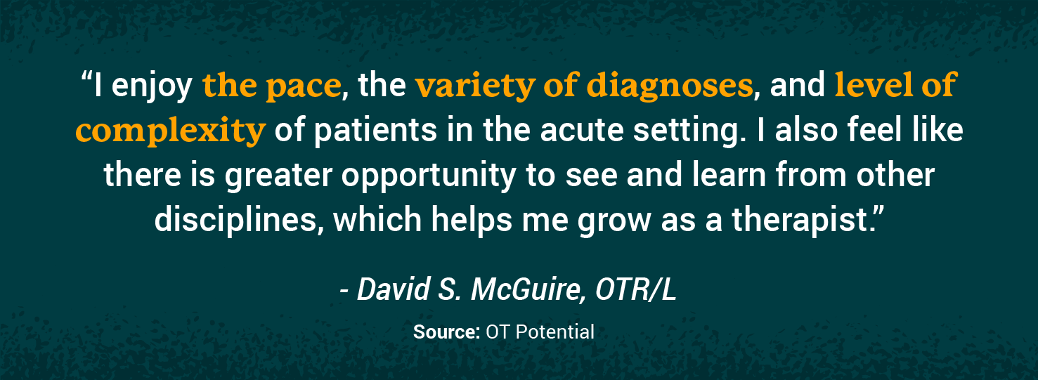 Quote from practicing OT