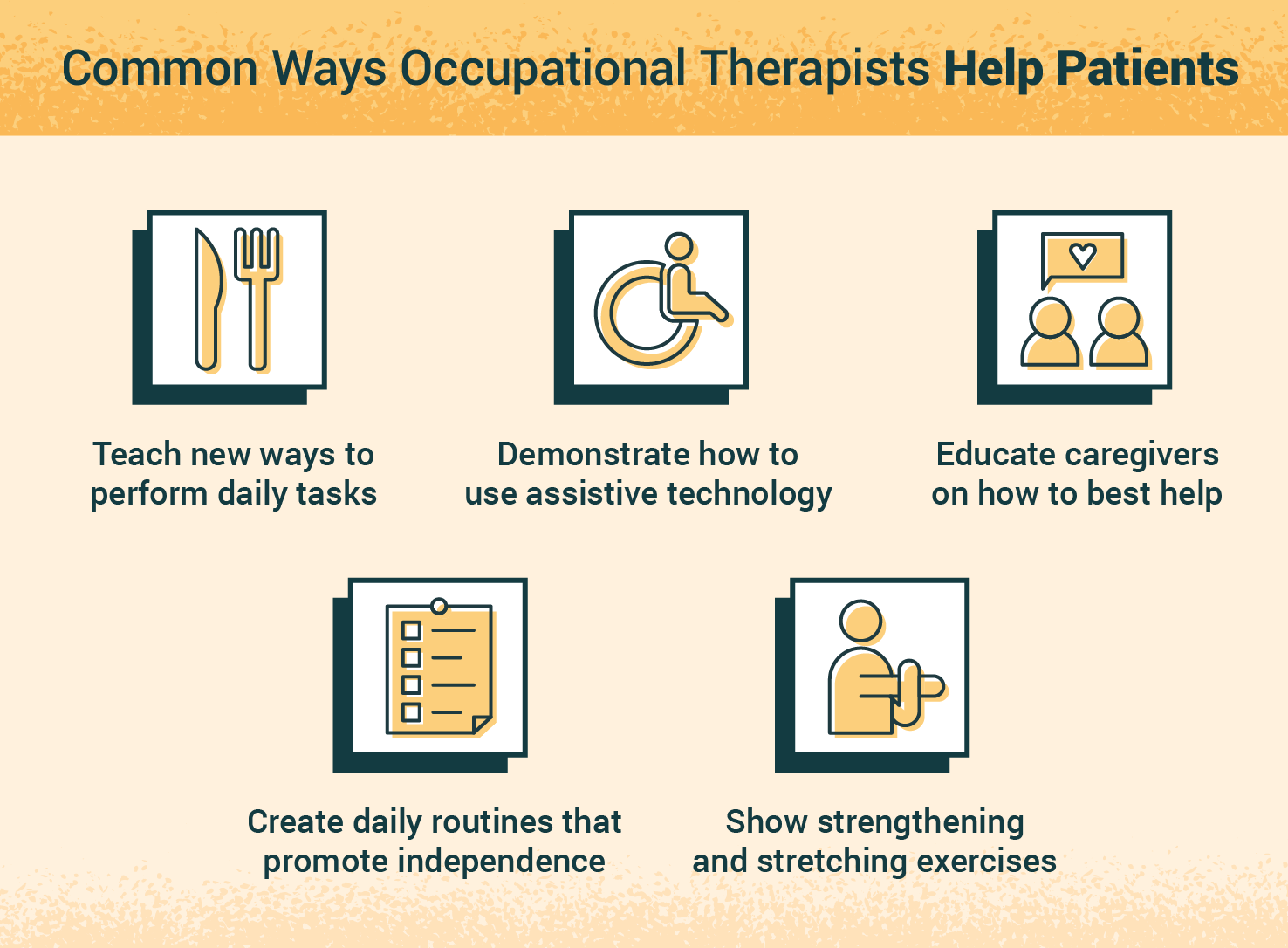 ways occupational therapists help patients