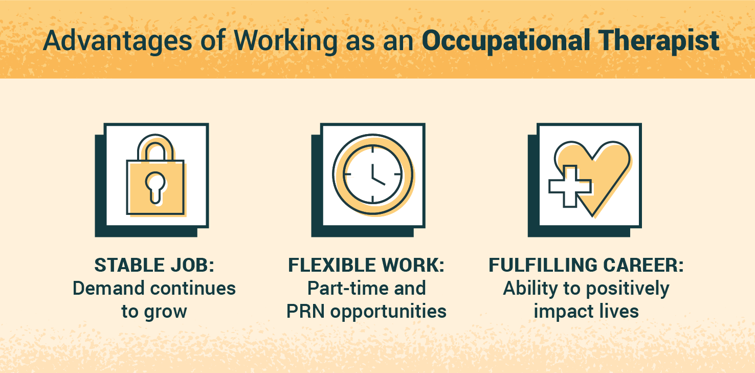 advantages of becoming an occupational therapist