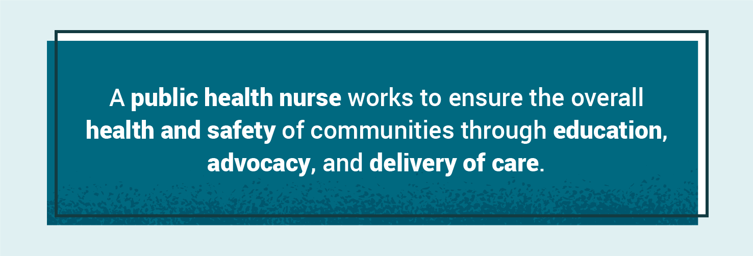 public health nurse definition