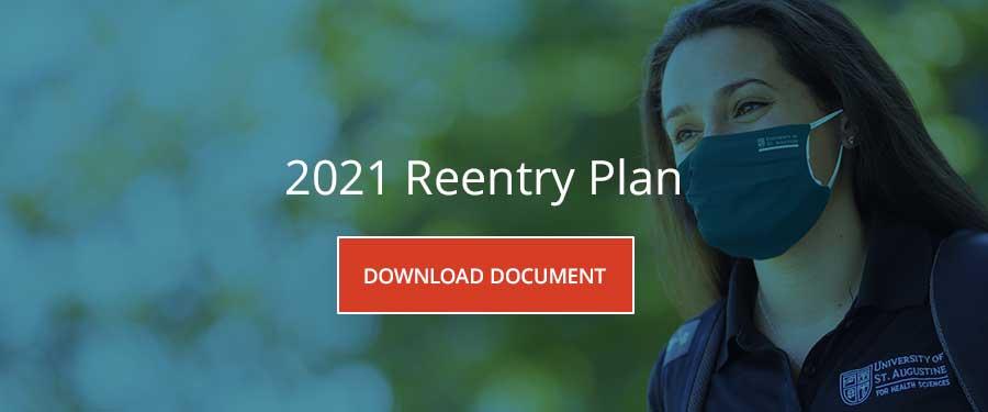 USAHS Reentry Plan 2021